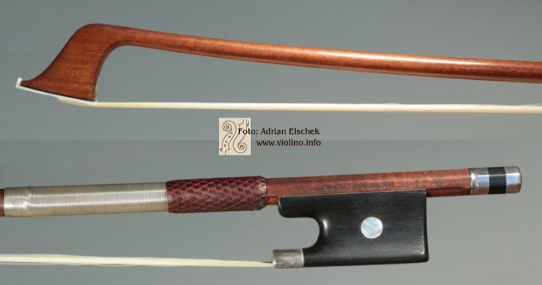 François Nicolas Voirin (1833–1885) Cello Bow Paris France Mirecourt